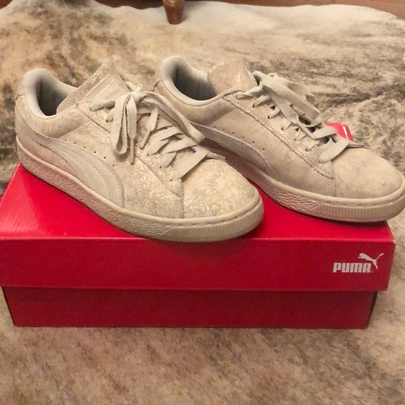 Puma Suede Remastered Shoes Size 7